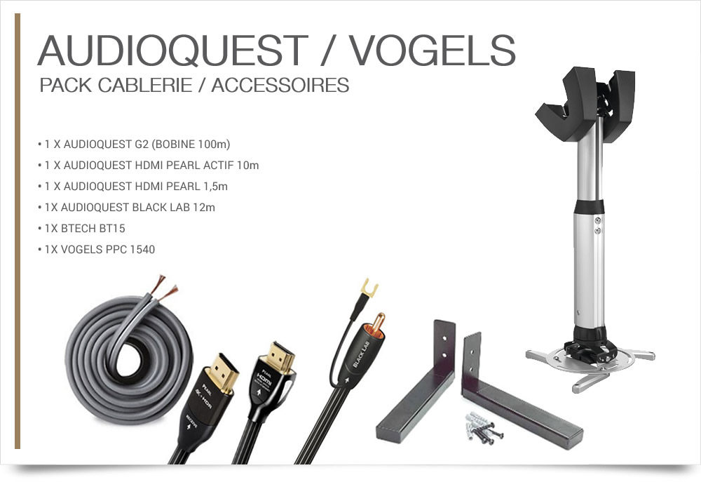 AUDIOQUEST/VOGELS cablerie